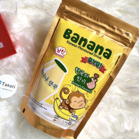 Namchin Milk Banana Flavoured Drink Powder Bubuk Susu Pisang Uyu Korea
