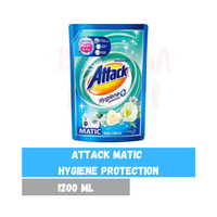 ATTACK Matic Liquid Hygiene Protection 1200ml 1200 ml Top n Front Load