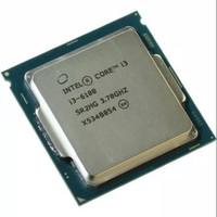 Processor Intel Core i3 6100 3,7Ghz skylake - Tray + Fan