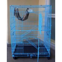 Kandang Kucing Medium + Ayunan Kucing / Cat Cage C-240