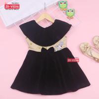 Dress Najwa uk 2-3 Tahun / Dres Anak Perempuan Gaun Pesta Baju Balita
