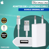 Charger iPhone Fast Charging with Kabel Lightning Original Apple