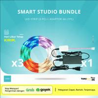Bardi Smart Studio Bundle - 3 LED strip & 1 Adaptor 4A