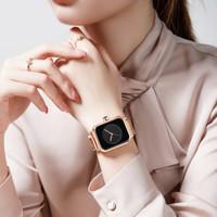 REBIRTH jam tangan wanita fashion casual mesh band cewek tahan air