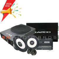 Paket Audio Eksis 3 Paket Audio Midbass Processor Include Instalasi
