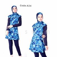Baju renang muslim dewasa/perempuan/cewek remaja/renang muslimah