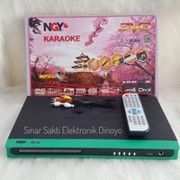 DVD Player Nagoya USB Karaoke MPEG4 CD MP3 MP4