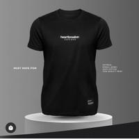 3second T-Shirt Pria Hitam