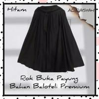 rok wanita terbaru model buka payung bahan baloteli premium