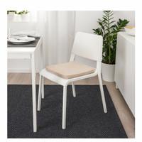 Bantal Alas Kursi/Bantal Kursi Bangku Empuk 36x36Cm IKEA Original_Krem