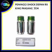 Peninggi/sambungan Shock skok depan RX KING panjang 7 cm
