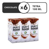 Nutriboost Coklat - Karton 180mL x 6pcs
