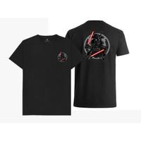 Baju Kaos Chibi Darth Vader Star wars (Hitam, Putih)