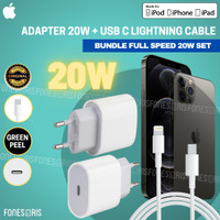 Charger iPhone 20W Fast Charging Original Apple 11 12 Mini Pro Max