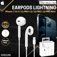 Earpods Lightning iPhone 12 Pro Max Original Apple Earphone Earpod
