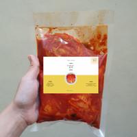 fresh kimchi 500 gram halal homemade