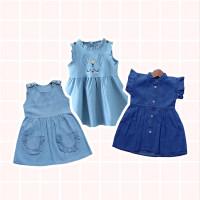 Cony Denim Dress / Terusan Bayi