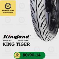 Ban Motor Kingland King Tiger Ring 14 80/90 Tubeless