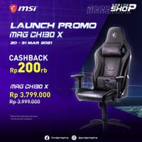 MSI MAG CH130 X / MAGCH130X / MAG-CH130X - Gaming Chair