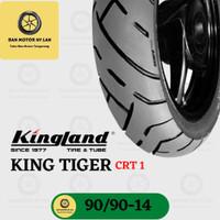 Ban Motor Kingland King Tiger CRT1 Ring 14 90/90 Tubeless