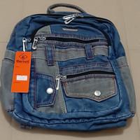 Tas Ransel / Backpack Denim