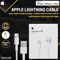 Kabel Data iPhone Lightning to USB Fast Charging Original Apple