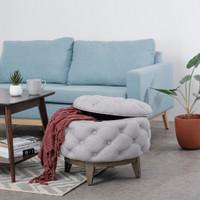 Sofa Hilda Round Ottoman - Vodca