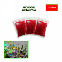 Hidrogel merah 10 gr media tanam - FARMINESIA