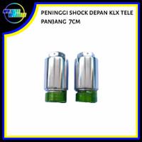 Peninggi/sambungan Shock skok depan KLX panjang 7 cm