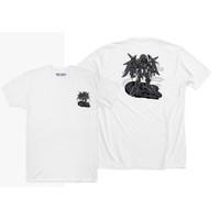 Baju Kaos Chibi Gundam Darth Vader Star Wars (Hitam, Putih)