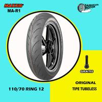 Ban Motor VESPA MATIC // MAXXIS MA-R1 110/70 Ring 12 Tubeless