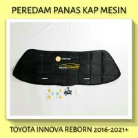 TOYOTA INNOVA REBORN 2016+ Peredam Panas Kap Mesin Mobil VTECH + Klip