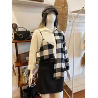 Zara Square Shirt - atasan wanita kemeja wanita termurah BEST SELLER