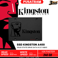 SSD KINGSTON V400 240GB SATA3 SOLID STATE DISK ORIGINAL BARU SSD 2,5