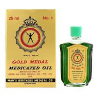 Axe Brand Gold Medal Medicated Oil 25ml