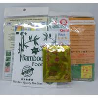 Koyo Kaki Bamboo Gold Asli 100 Persen Original Detox Kaki Terpercaya
