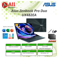 Asus Zenbook Pro Duo 14 UX482EA KA551TS Touch i5 1135G7 8GB 512ssd