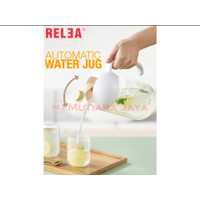 RELEA Botol Pitcher Teko Air Minum Water Jug 2L Kaca