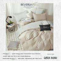 Set Bedcover Sprei Kotak Aesthetic Ukuran 180x200 160x200