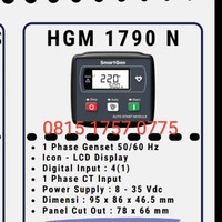 smartgen HGM1790N /1880 Auto Start Control Module genset