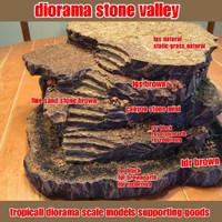 bahan diorama - bahan miniatur - paket bahan diorama rock valley