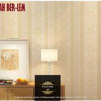 wallpaper stiker motif batik emas new arrival