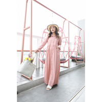 Yoenik Apparel Full Button Panya Dress Dusty M15010 R15S3