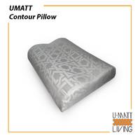 UMATT Contour Pillow Bantal ORTHO kesehatan - 40 x 50