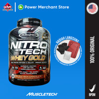 Muscletech Nitrotech Whey Protein Gold 6lb - Chocolate
