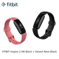 FITBIT Inspire 2 HR Black + Desert Rose Black