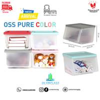 Olymplast Storage Solution OSS Pure Colour Kotak Container Box Murah