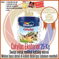 Dulux Catylac Exterior 25 Kg Putih 888 / Warna / Cat Khusus Exterior