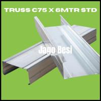 BAJA RINGAN KANAL C / C TRUSS / C75 STD