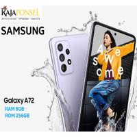 SAMSUNG GALAXY A72 RAM 8/256GB iP67 64MP OIS NFC Batt 5000mAh Resmi